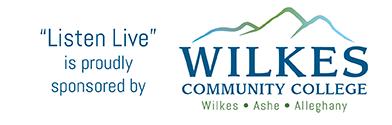 Wilkes Community College Listen Live Banner