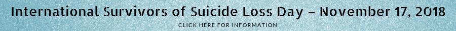survivors of suicide loss new