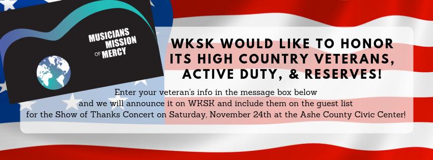 WKSK would like to honor new